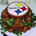 Pittsburgh Steelers Groom Cake